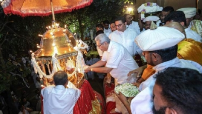 Annual Kelani Duruthu Maha Perahera held under the patronage of President