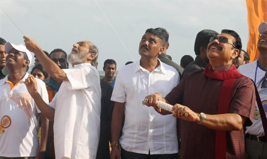 President joins National Kite Festival at Galle Face Green