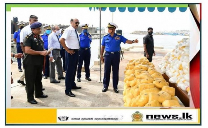 Navy escorts drug ship to Dikovita Fishery Harbour
