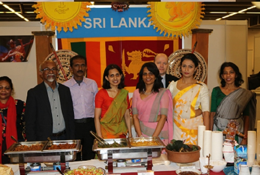 SRI LANKA PARTICIPATES IN THE UN WOMEN'S GUILD BAZAAR  IN VIENNA