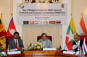 COLOMBO MEETING PRESSES FOR RATIONALIZATION OF A BIMSTEC CHARTER