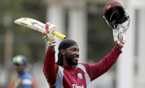 Chris Gayle is all set for his 100th Test