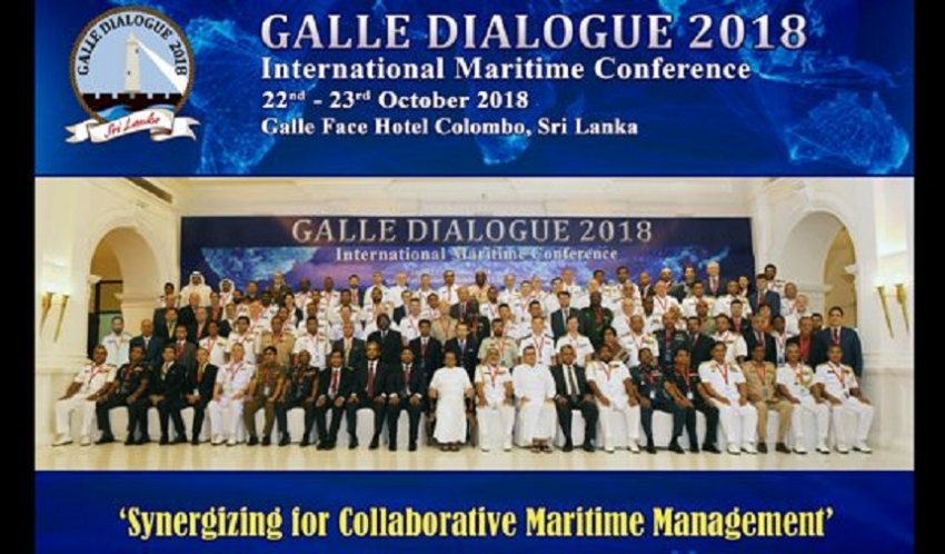 Galle Dialogue International Maritime Conference 2018 begins