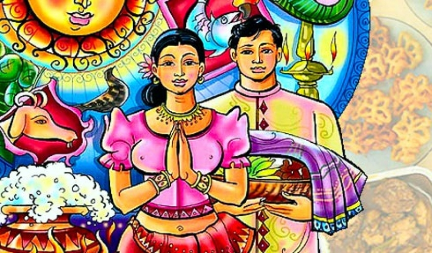 Sinhala and Hindu New Year today