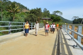 Rural bridges will benefit 300,000 people in Badulla