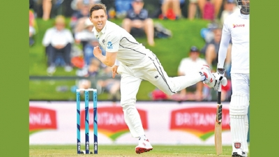 Brilliant Boult 'in the groove' as NZ take full control
