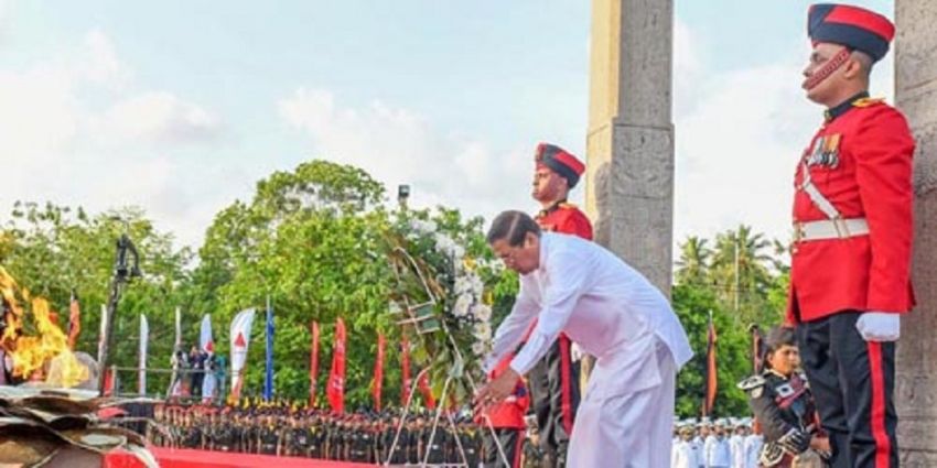 Lanka is capable of countering international terrorism - President