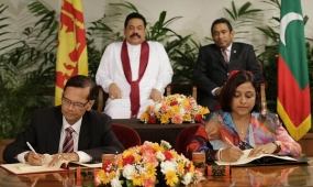 Sri Lanka and Maldives Sign Three Bilateral Agreements