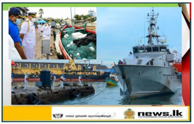 Naval operation in western seas apprehends 04 suspects with drugs worth over Rs. 600 million