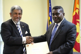 Solomon Islands  values Sri Lanka's support in the aftermath of devastating cyclone