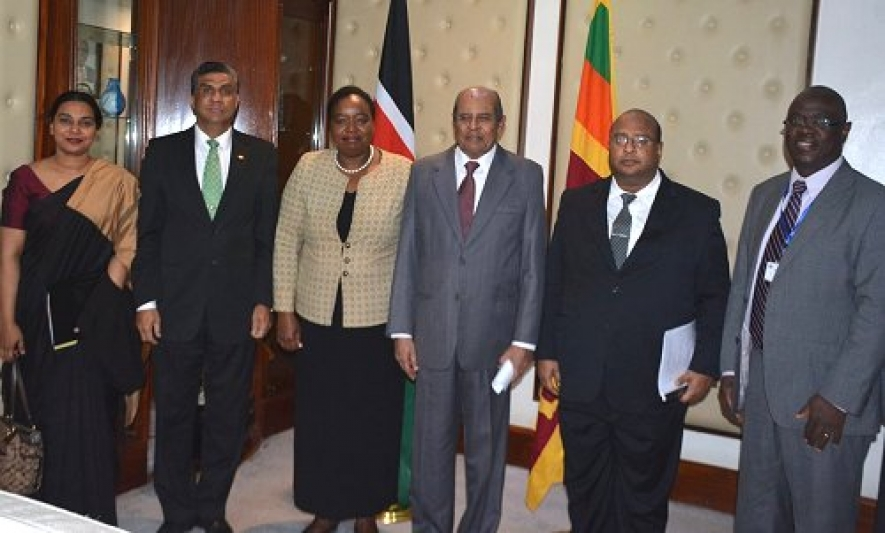 Sri Lanka to expand relations with Kenya