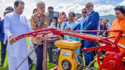 IRRI and  Lanka sign a five-year action plan