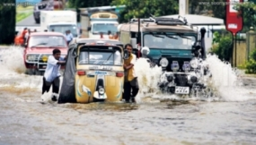 Floods affect transportation in several areas