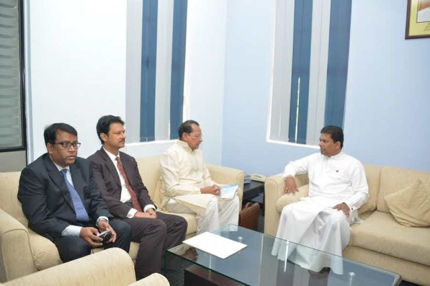 Sri Lanka, Bangladesh  discuss bilateral cooperation in the areas of media