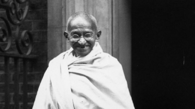 Gandhi's ashes stolen and photo defaced on 150th birthday