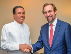 President meets UNHR Chief