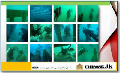 Sri Lanka's first-ever underwater museum declared open in Galle