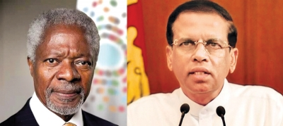 Kofi Annan stood firmly as a voice for peace - President