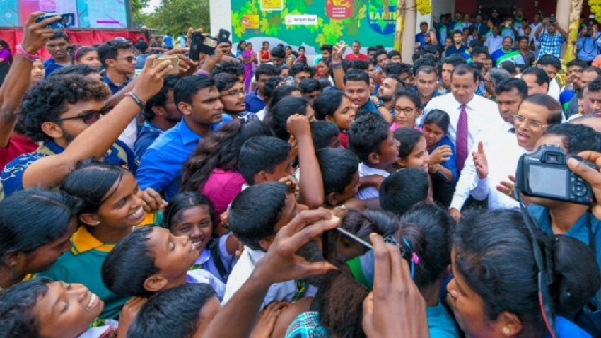 'The Earth Watchman' program launched by President in Kilinochchi