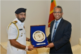 Navy Commander calls on Foreign Secretary