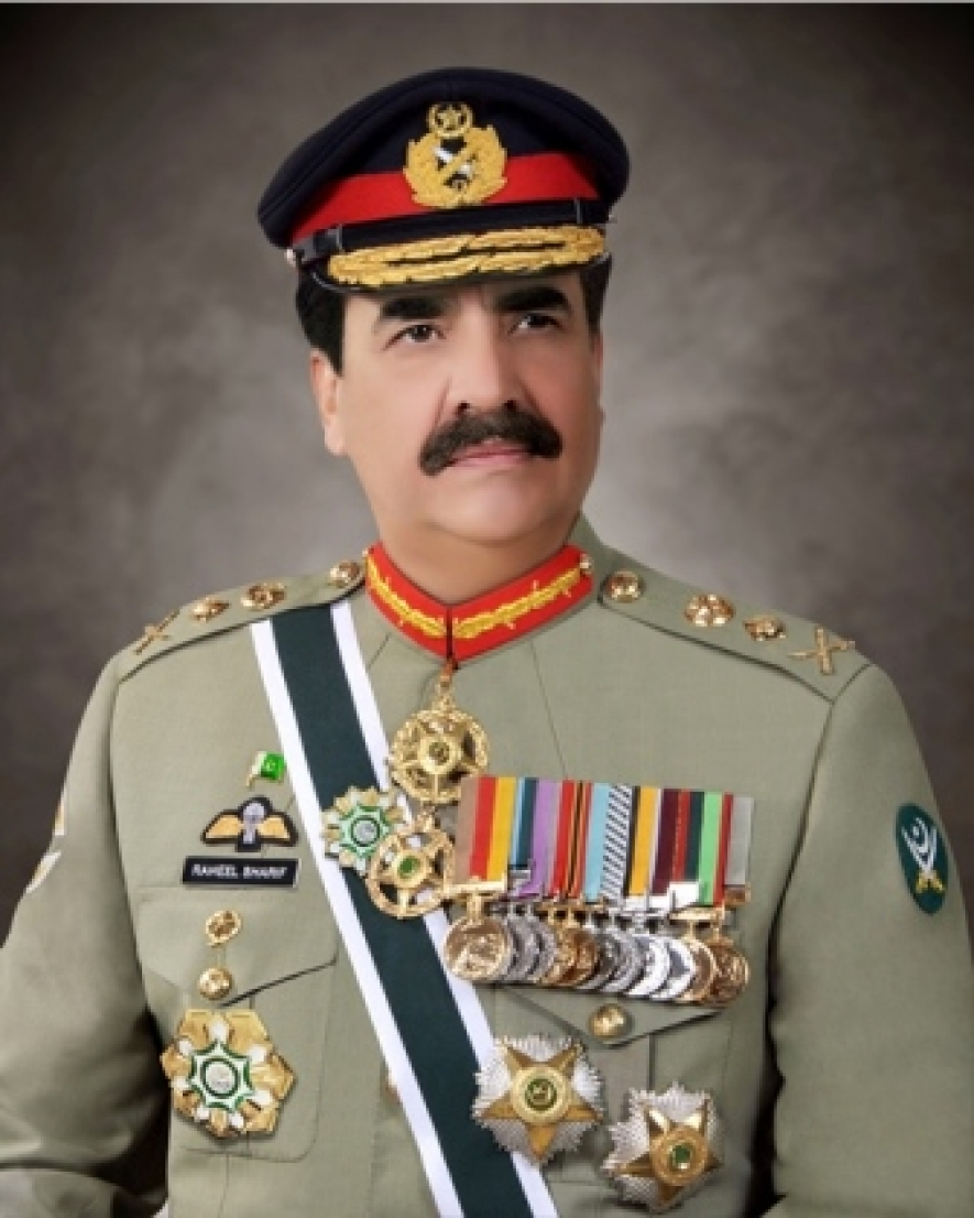 Pakistan's Army Chief meets Sri Lankan Prime Minister