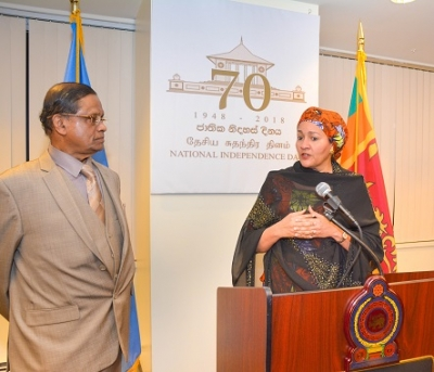 Anniversary of Independence celebrated in New York