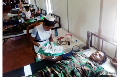 Troops Help Save Lives of Kilinochchi Patients