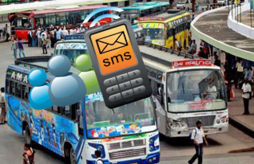 Private bus-related complaints via SMS