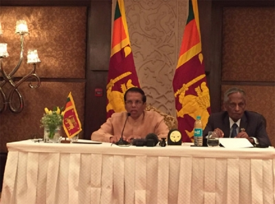 President says Sri Lanka looking forward to Indian PMs  visit