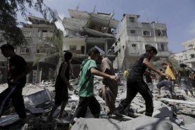 14 killed in Israeli air strikes on 48th day of Gaza war
