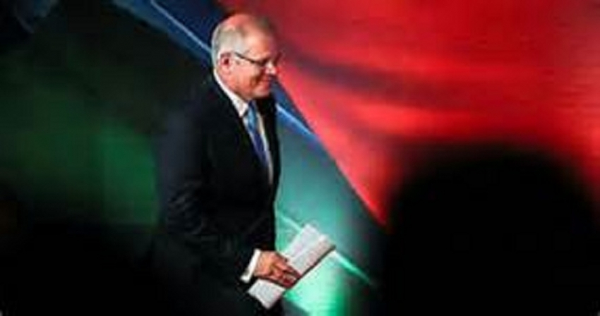 Australia election: Morrison's coalition seeking  majority