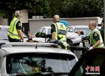49 people killed in New Zealand mosque shootings; 4 held