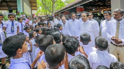 President at several programmes in Polonnaruwa