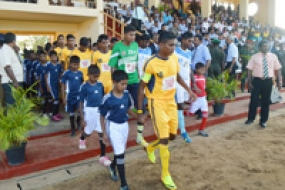 National-Level Football Tournament Takes Place in Jaffna for the First Time in 30 Years