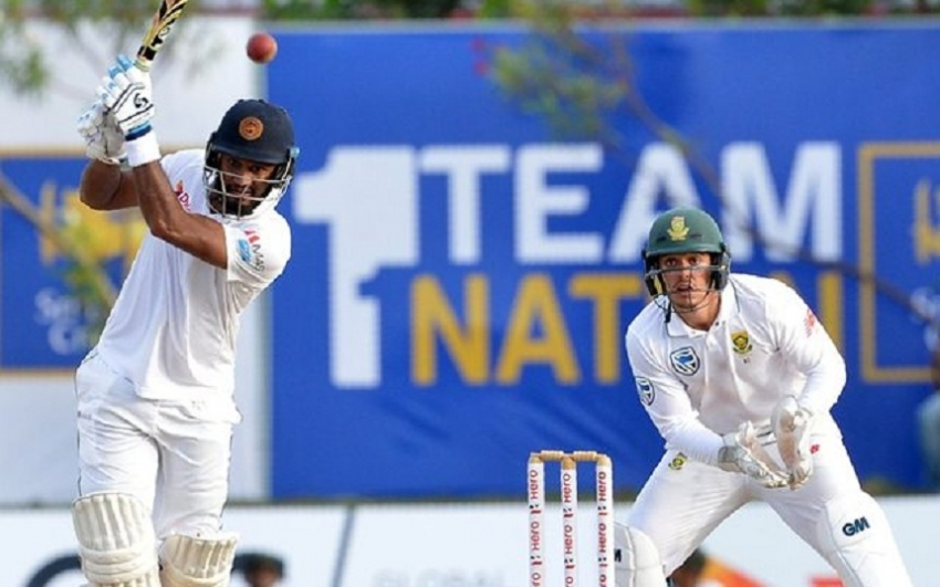 Lankan top order enjoy solid hits against pink ball