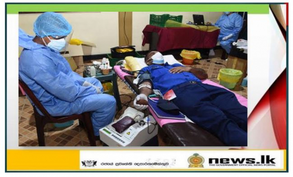 Navy supports blood donation campaign held at Welisara Naval Complex