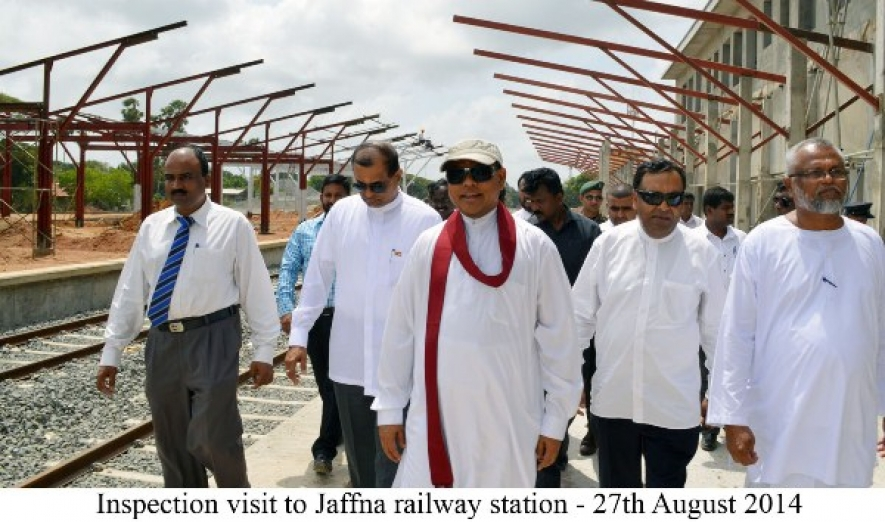 Inspection visit to Jaffna Railway Station