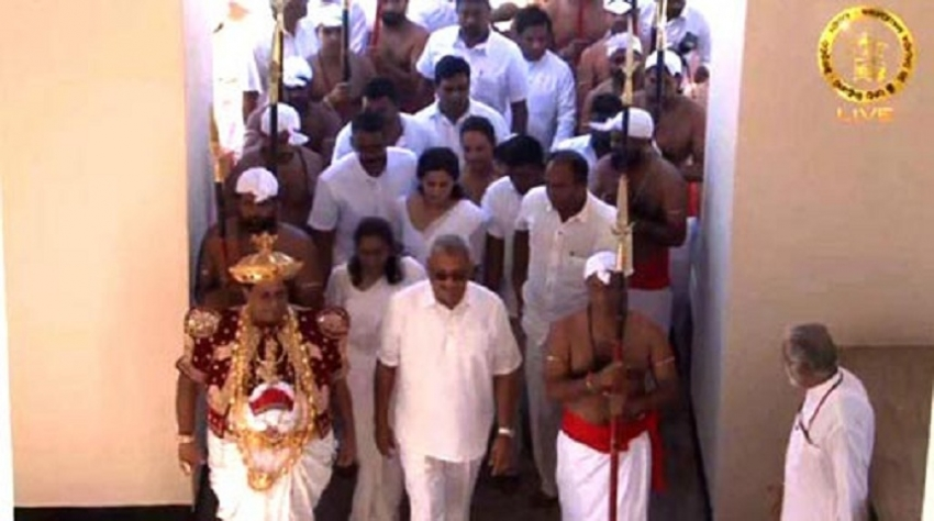 President's inaugural visit to Kandy