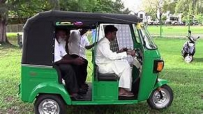 Free vocational training for three-wheeler drivers