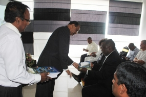 Ramaphosa and his delegation visit Jaffna