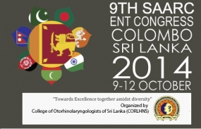 Ninth SAARC ENT Congress in Colombo