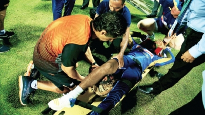 Leg injuries rule Mendis, Jayasuriya out of third T20I