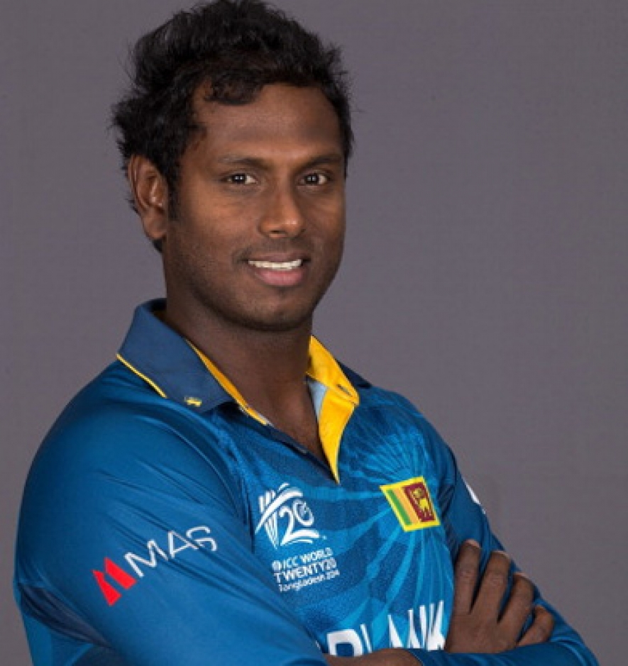 Angelo Mathews named captain of ICC Test Team of the Year