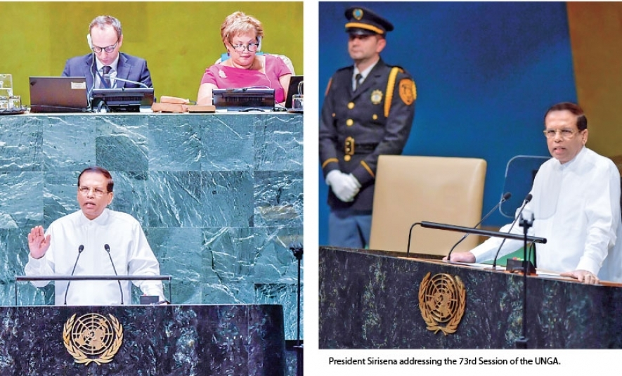 President at 73rd UNGA Session