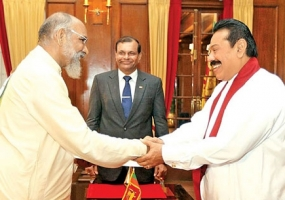 President Invites Wigneswaran to Join Delegation to India for Modi's Swearing-in Ceremony