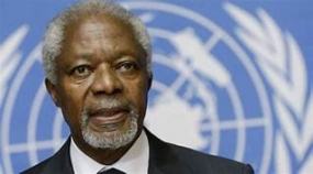 Kofi Annan, former head of the U.N., dies at age 80