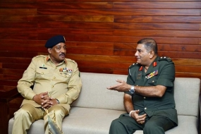 Defence Delegation of Pakistani NDU calls on Chief of Defence Staff
