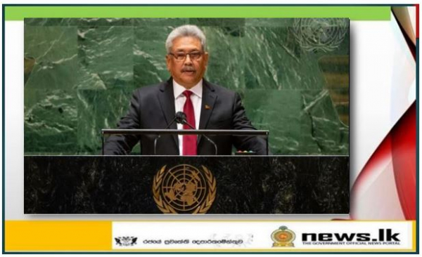 Sri Lanka as COVID-19 knowledge exchange regional hub – President proposes at UN