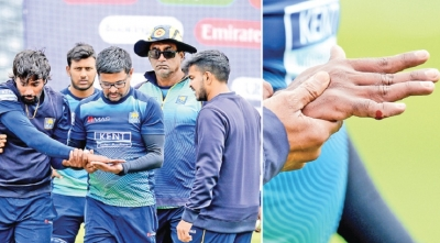 Match-winner Nuwan Pradeep dislocates finger