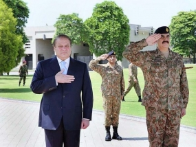 PM Nawaz updated  on ongoing military ops. in North Waziristan